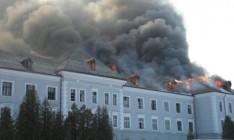 Во Львовской области произошел пожар в отеле