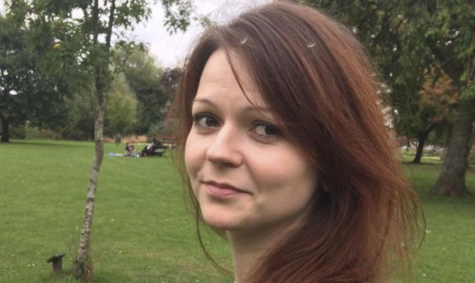 Дочь бывшего сотрудника ГРУ Сергея Скрипаля Юлия вышла изкритического состояния
