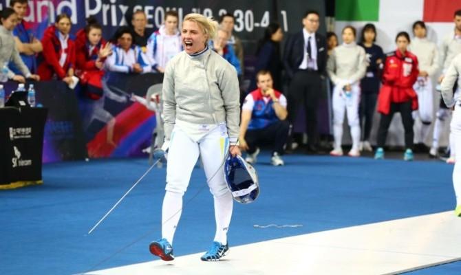Украинская саблистка Харлан «разгромила» соперницу вфинале Гран-при вСеуле