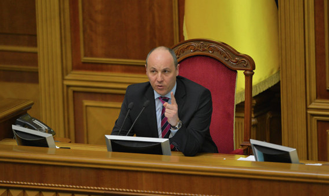 Парубий: Президент согласен, что досрочные выборы приведут кдестабилизации вгосударстве Украина