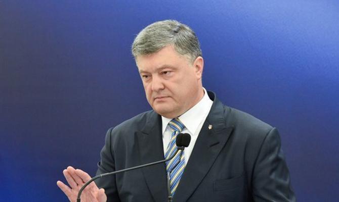 РФготова влюбой момент квторжению насвятую украинскую землю— Порошенко