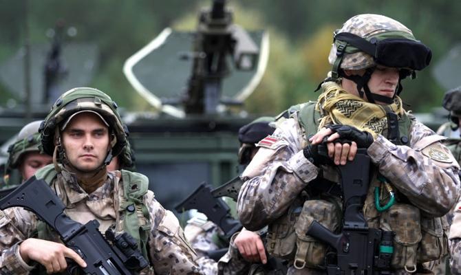 ВЭстонии стартуют крупнейшие вистории страны военные учения «Еж-2018»