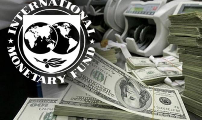Украина перечислила МВФ $368 млн