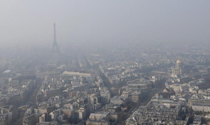 Еврокомиссия подаст в суд на шесть стран, загрязняющих воздух