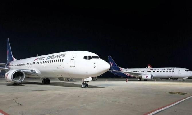 Грузинская авиакомпания начнет полеты вХарьков