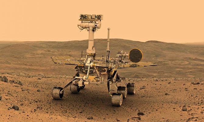 Ученые показали Марс после пыльной бури вмомент приближения кСолнцу