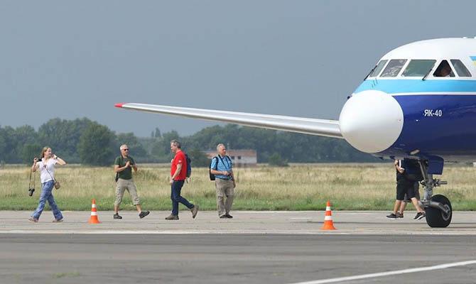 Аэропорт «Полтава» заработал после реконструкции