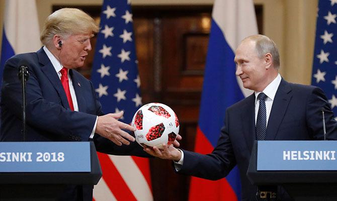 «Уменя была блистательная встреча спрезидентом РФ Путиным»— Трамп