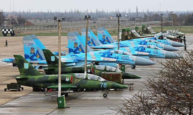 Чиновники пообещали украинским ВВС 30 модернизированных самолетов