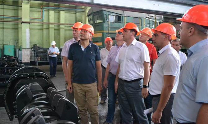 Локомотивы General Electric в Украине будут обслуживать в Мелитополе