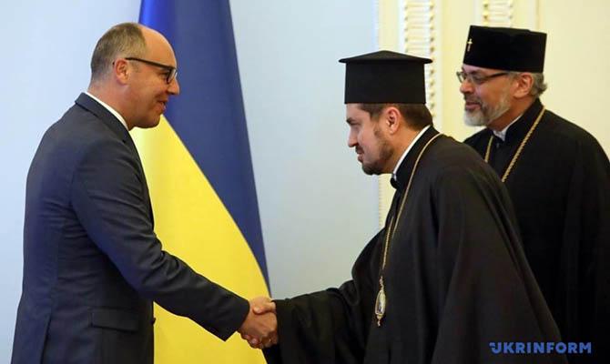 Экзарх Даниил: Решение оТомосе для Украины предполагается  доконца дня