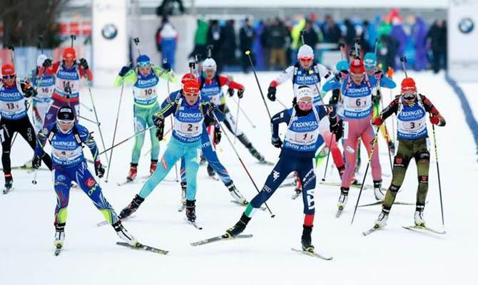 Шести российским биатлонистам разрешили выступать за Украину и Беларусь