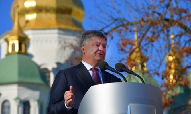 Порошенко пообещал не создавать «государственную церковь»