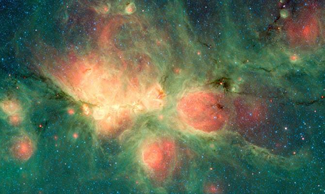 NASA показало Кошачью Лапу: События вмире
