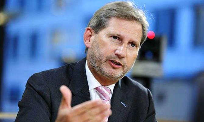Сегодня в Украину приедет еврокомиссар Хан