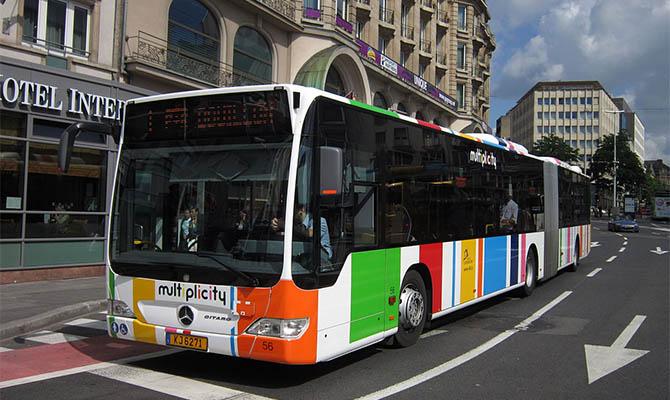 Весь общественный транспорт Люксембурга станет бесплатным