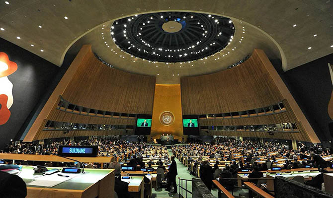Генассамблея ООН осудила нарушение прав человека в Крыму