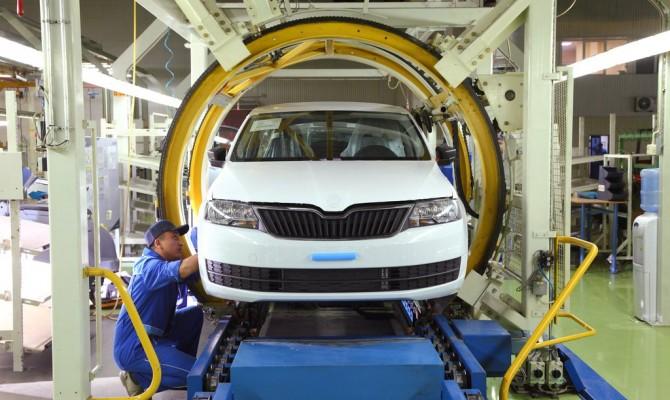 За год производство автомобилей в Украине сократилось на четверть