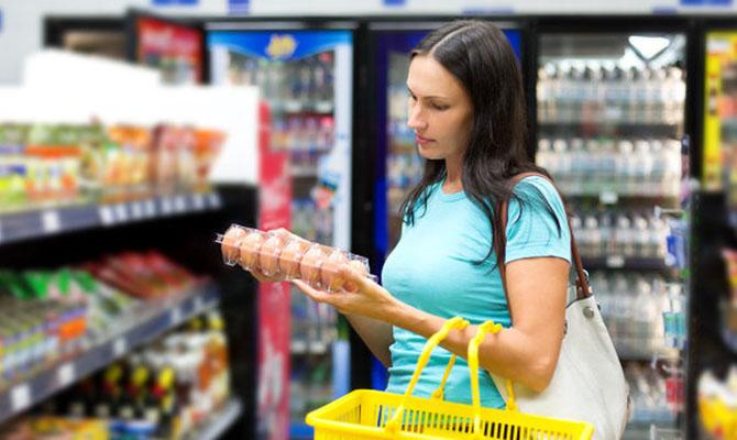 В Киеве самые дорогие в стране продукты питания