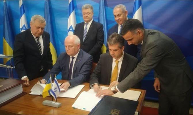 Израиль и Украина создадут зону свободной торговли