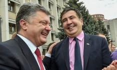 Саакашвили предрекает распад Украины в случае победы Порошенко