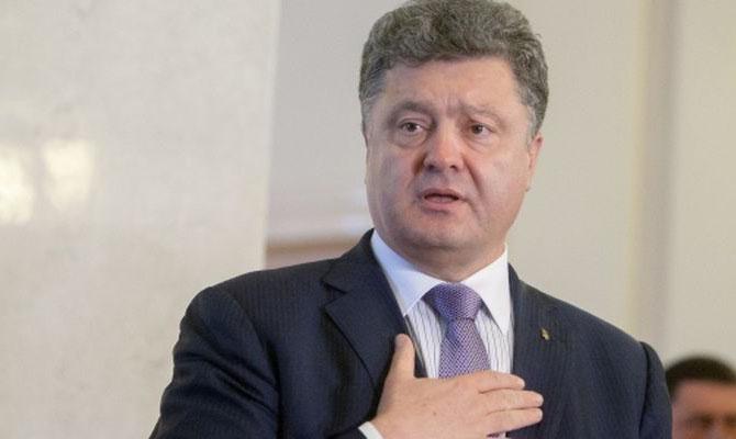 Порошенко заявил, что Украина уже победила Россию