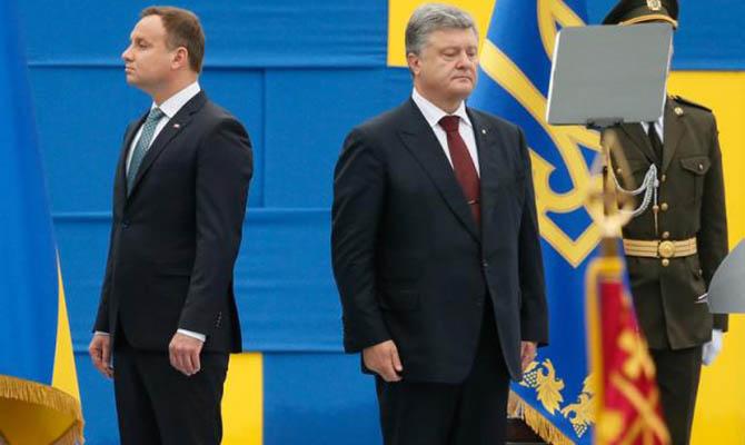 Президент Польши обвинил УПА и дивизию «Галичина» в геноциде поляков