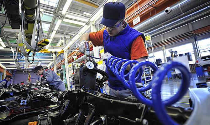 Промпроизводство вгосударстве Украина замесяц упало на13,8%