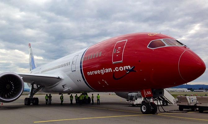 Авиакомпания Norwegian выставит Boeing счет за невозможность использовать 737 MAX 8