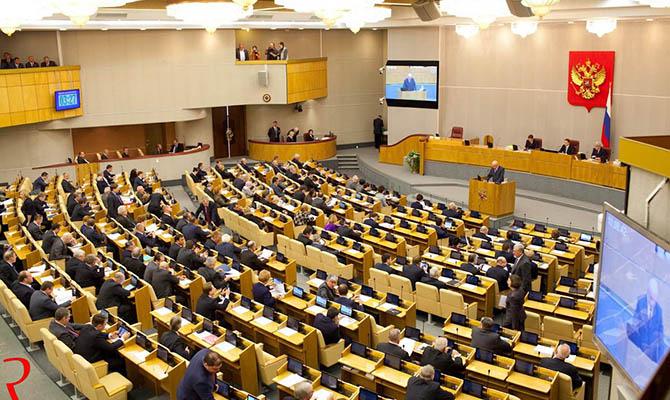 Российская Госдума хочет принять заявление о непризнании выборов в Украине