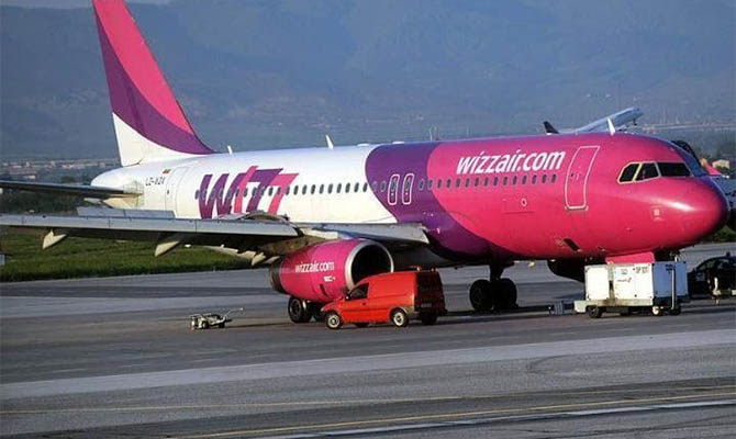 Wizz Air почти вдвое поднял плату за приоритетную посадку