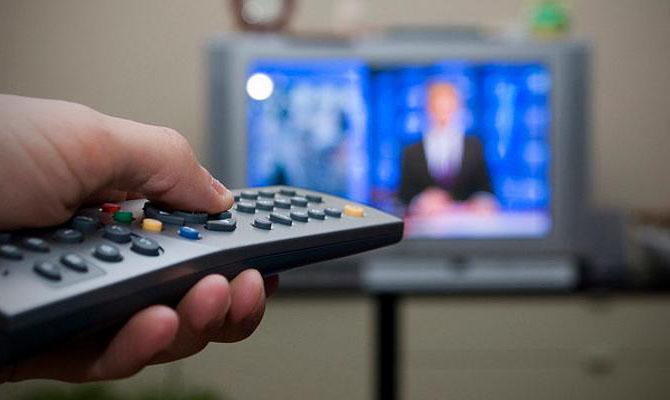 Доля украинского языка на телевидении достигла 92%