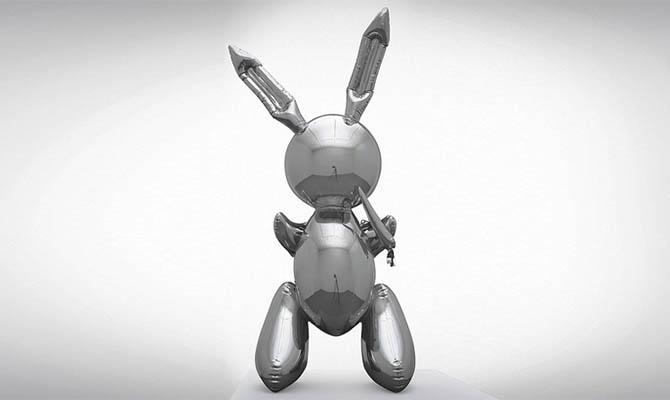 Скульптура «Кролик» Джеффа Кунса продана за 91 млн долларов