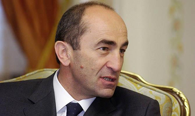 Бывший президент Армении Кочарян вышел на свободу