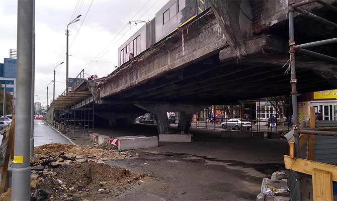 Реконструкция Шулявского моста в Киеве может затянуться
