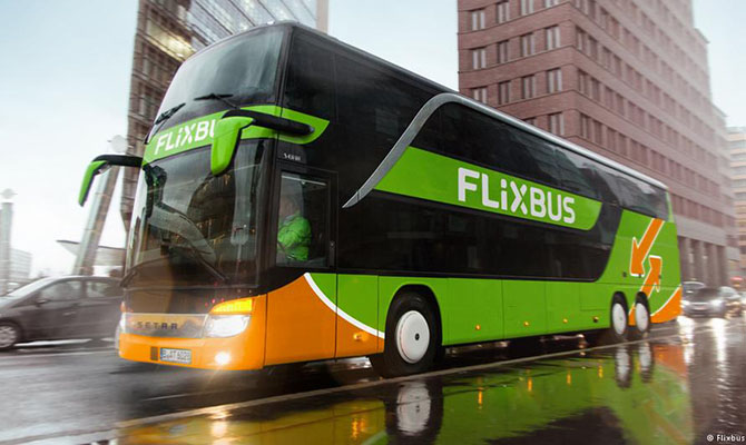 Автобусный перевозчик FlixBus нашел второго партнера в Украине