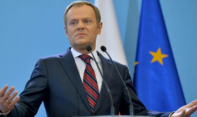 Туск хочет пригласить Украины на следующий саммит G7