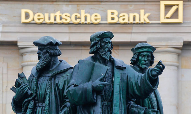 В Deutsche Bank предрекают финансовый крах еврозоны