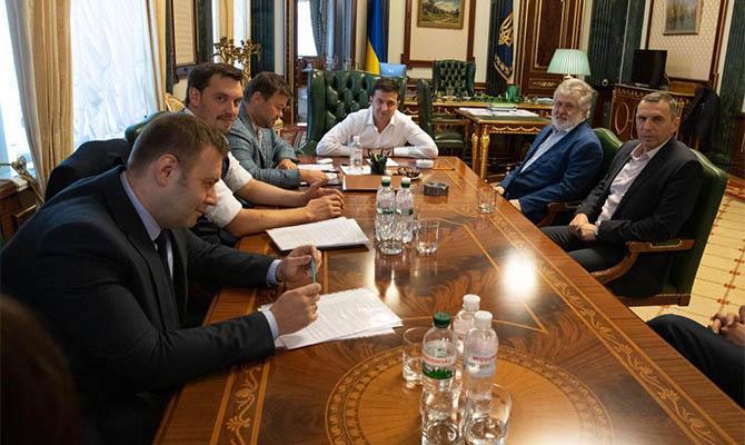 Коломойский уверяет, что встретился с Зеленским первый раз за 4 месяца