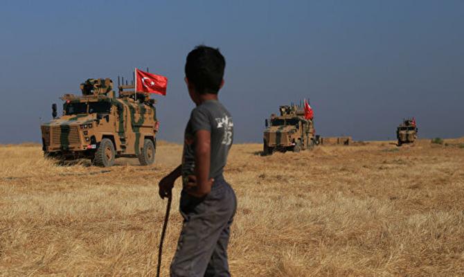 Турция захватила город Рас-эль-Айн в Сирии