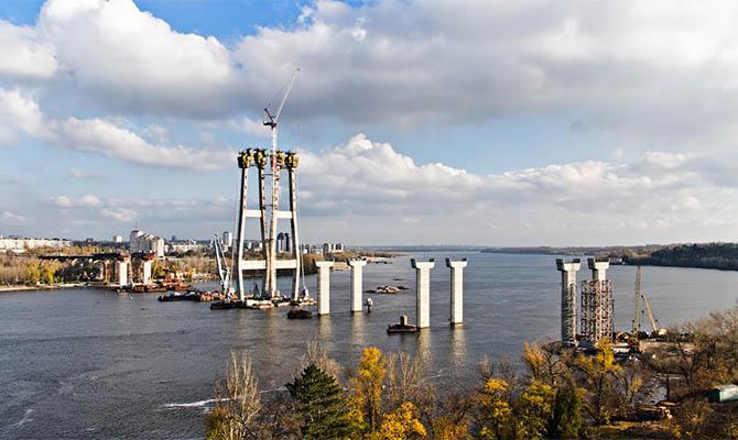Мост в Запорожье помогут построить китайцы
