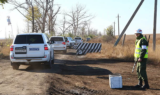 Украина винит боевиков в срыве разведение на участке Петровское-Богдановка