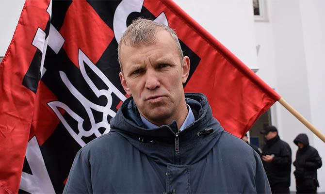 Националист Мазур выпущен на свободу на поруки украинских дипломатов