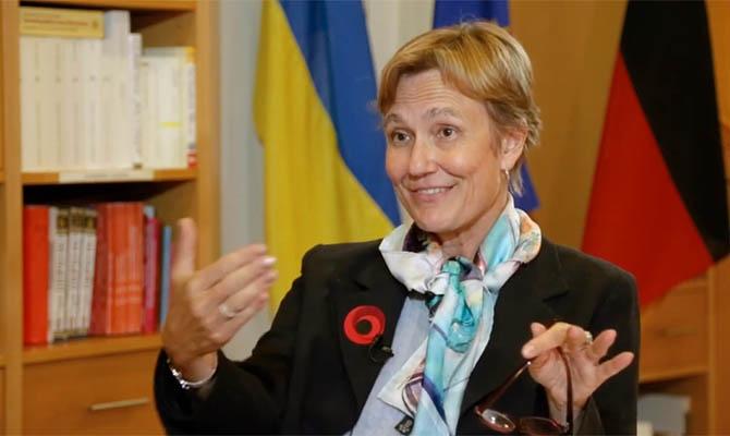 Посол Германии рассказала, как Украине привлечь инвестиции