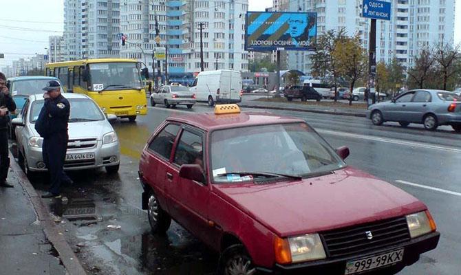 Украинцы стали чаще ездить пьяными за рулем