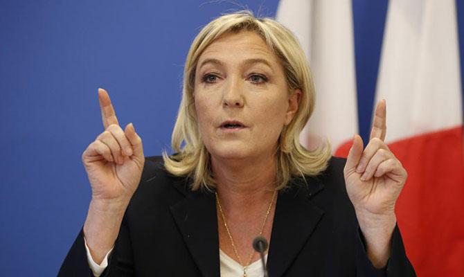 Марин Ле Пен снова будет бороться за пост президента Франции