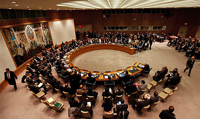 Россия собирает заседание СБ ООН для обсуждения Минских соглашений