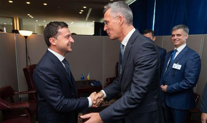 Зеленский сегодня встретится с главой МВФ и генсеком НАТО
