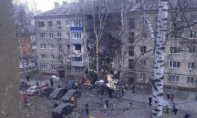 В российском Орехово-Зуево произошел взрыв в жилом доме