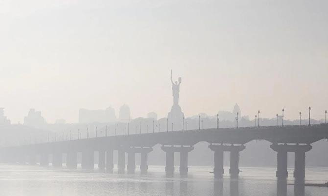Воздух в Киеве, Киевской и Житомирской областях почти пришел в норму